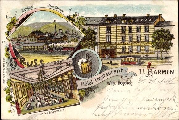 Litho barmen wuppertal in nordrhein westfalen hotel von for Hotel wuppertal barmen