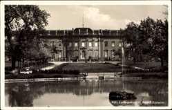 Postcard Ludwigsburg in Baden Württemberg, Die Südseite des Schlosses