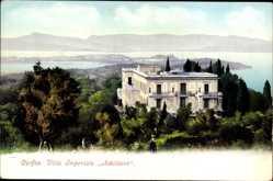 Postcard Korfu Griechenland, Villa Imperiale Achilleion