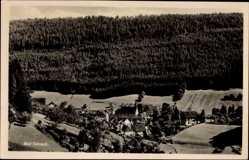 Postcard Bad Teinach Zavelstein im Nordschwarzwald, Ortschaft mit Waldlandschaft