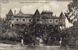 Postcard Montestoril Portugal, Chalet Almeida Pinheiro, Royal Hotel