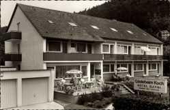 Postcard Bad Liebenzell im Schwarzwald, Gästeheim Koch, Hotel Garni