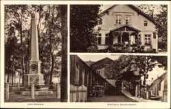 Postcard Lenzen an der Elbe, Geburtsstätte Jahns, Wolffsche Gastwirtschaft