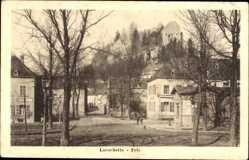 Postcard Larochette Luxemburg, Fels, Burgruine, Gebäude