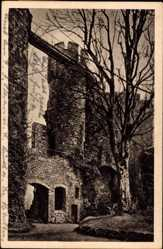 Postcard Mettlach im Kreis Merzig Wadern Saarland, Burg Montclair