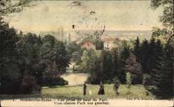 Postcard Mondorf les Bains Luxemburg, Vue prise du haut du Parc