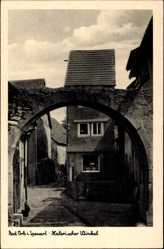 Postcard Bad Orb im Main Kinzig Kreis Hessen, Malerischer Winkel, Torbogen