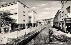 Postcard Bad Orb im Main Kinzig Kreis Spessart Hessen, Badehäuser am Quellenring