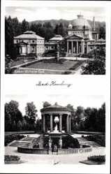Postcard Bad Homburg vor der Höhe im Hochtaunuskreis, Kaiser Wilhelm Bad, Pavillon