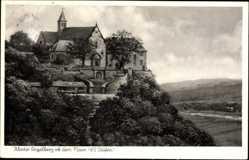 Künstler Ak Großheubach am Main, Blick auf das Kloster Engelberg