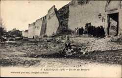 Postcard Saloniki Griechenland, Un coin des Remparts, Festungsmauern