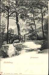 Postcard Heidelberg am Neckar Baden Württemberg, Blick auf die Birkenbank