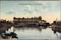 Postcard Ludwigshafen am Rhein Rheinland Pfalz, Blick auf den Hafen