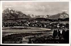 Postcard Lechbruck am See im schwäbischen Kreis Ostallgäu, Blick auf den Ort