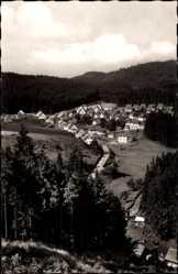 Postcard Silberstein Geroldsgrün im Frankenwald, Blick auf den Ort