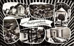 Postcard Bad Peterstal Griesbach Schwarzwald, Diözesanbildungsheim