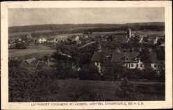Postcard Schömberg im Nordschwarzwald Kreis Calw, Blick auf den Ort, Kirche