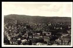 Postcard Stuttgart in Baden Württemberg, Totalansicht der Stadt