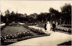 Ak Gorzów Wielkopolski Landsberg Warthe Ostbrandenburg, Rosengarten