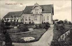 Postcard Stelle im Kreis Harburg, Blick auf das Pflegeheim, Parkanlage