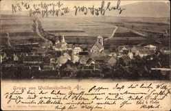 Postcard Wald Michelbach Odenwald, Gesamtansicht des Ortes