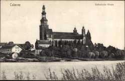 Ak Chełmża Culmsee Westpreußen, Katholische Kirche