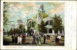 Postcard Düsseldorf am Rhein, Gewerbeausstellung 1902, Hörder Bergwerksverein