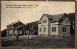 Postcard Schotten im Vogelsbergkreis Hessen, Clubhäuser des Vogelsberger Höhen Clubs