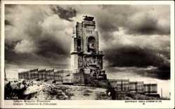 Postcard Athen Griechenland, Monument de Philopappe, Blick auf ein Denkmal