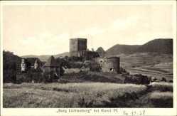 Postcard Kusel am Kuselbach Rheinland Pfalz, Ansicht Burg Lichtenberg