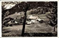 Postcard Oberjoch Bad Hindelang im Oberallgäu, Gesamtansicht, Kirschblüte