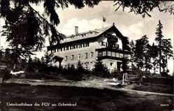 Postcard Fleckl Warmensteinach Oberfranken Bayern, Unterkunftshaus des FGV