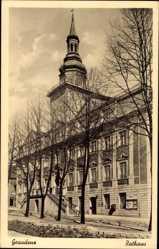 Ak Grudziądz Graudenz Westpreußen, Ansicht vom Rathaus, Fassade