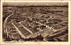 Postcard Heuberg Stetten am kalten Markt, Ansicht der ganzen Ortschaft