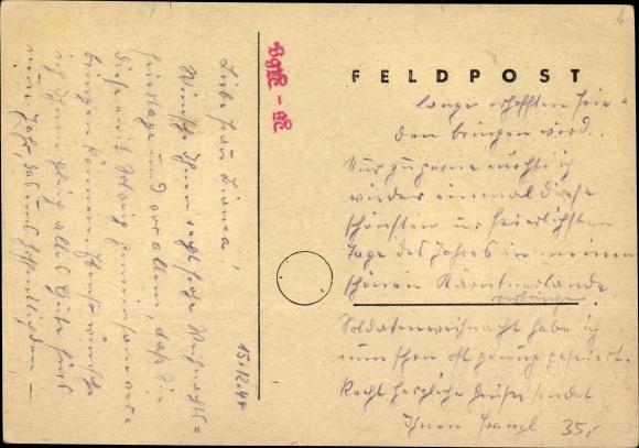 Frohe Weihnachten Hindi.Kunstler Ansichtskarte Postkarte Frohe Weihnachten 1944