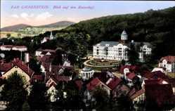 Postcard Bad Liebenstein im Wartburgkreis, Blick auf den Kaiserhof