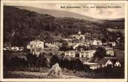 Postcard Bad Liebenstein im Wartburgkreis, Blick vom Waldhaus Reichshöhe