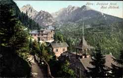 Postcard Studenec Kohlbach Kolbach Slowakei, Tatra, Tarpatak füred
