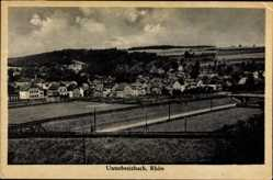 Postcard Unterbreizbach in Thüringen, Gesamtansicht der Stadt