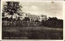 Postcard Pforzheim im Schwarzwald Baden Württemberg, Neues Krankenhaus St Trudpert