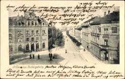 Postcard Ludwigsburg in Baden Württemberg, Blick in die Myliusstraße