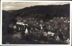 Postcard Calw im Nordschwarzwald, Gesamtansicht der Stadt