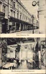 Postcard Köln am Rhein, Grand Hotel Belgischer Hof, Bierrestaurant Marmorsaal