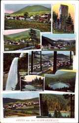 Postcard Baiersbronn im Kreis Freudenstadt, Schwarzwald, Klosterreichenbach