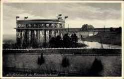 Postcard Niederfinow Brandenburg, Schiffshebewerk des Hohenzollernkanals