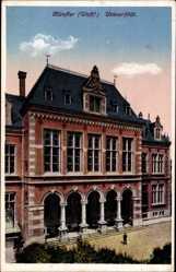 Postcard Münster in Westfalen, Außenansicht der Universität