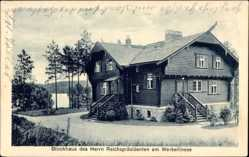 Postcard Altenhof Schorfheide am Werbellinsee, Blockhaus des Reichspräsidenten