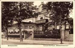 Postcard Birkenwerder Kreis Oberhavel, Ballhaus Waldschlösschen, Fritz Bollmann