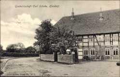 Postcard Handorf Niedersachsen, Gastwirtschaft Carl Schoke
