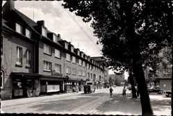 Foto Ak Oberhausen Osterfeld am Rhein, Straßenpartie, Kaisers